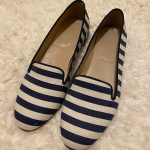 J. Crew Cleo Fabric Loafers